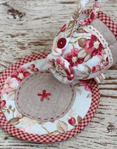 Quilted Teacup | by PatchworkPottery