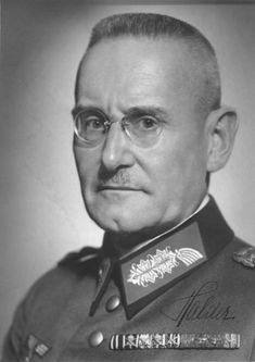 Hitler sacks his Chief of Staff Franz Halder. A portrait of Franz Halder from 1938. He came from a traditional Prussian military background and stood apart from the Nazis. As Chief of the Army General Staff Franz Halder, far right, had been at the side of Hitler during the planning of all the Wehrmacht operations until 1942.