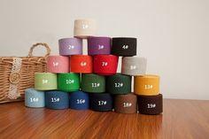 3.8 cm / 38mm / 1.5 inch Width, Solid Cotton Canvas Webbing / Cotton Bag Strap, Twenty Colors Available, 5 Yards, #152