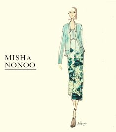 Inspiration behind Nonoo's Spring 2014 collection