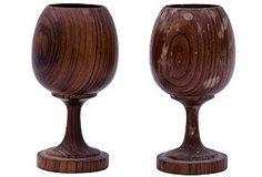 Wood Goblets