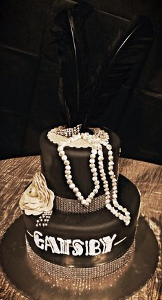 Beautiful Gatsby cake- Sweet220