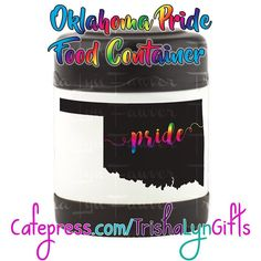 From my State Pride Collection: this Oklahoma Pride Insulated Food Container is available now in my Cafepress store! This same design is available on clothing drink ware home goods jewelry and more! http://ift.tt/2faAfsN  #cafepress #cafepressshop #cafepressseller #printondemand #statepride #pride #lgbtqpride #gaypride #advocate #proudadvocate #usa #maps #rainbow #shopsmall #foodcontainer #container #Oklahoma #OklahomaPride #prideoklahoma #crafty #designer #forsale #pridegifts #pridedesign…