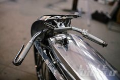 Cycle World - CUSTOM & STYLE: Blow Me Iron Head Down, Sport; by Max Hazan