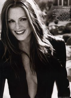 Julianne Moore for Vanity Fair by Herb Ritts.