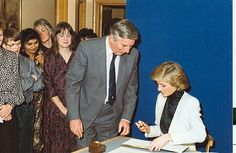 Princess Diana - Selly Oak 1988 c by Acorns Children's Hospice, via Flickr