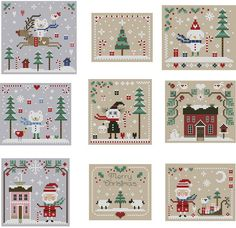 2010 Christmas Cross Stitch Collection