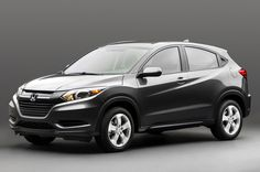 2015 Honda HR V Front Side View - Provided by MotorTrend