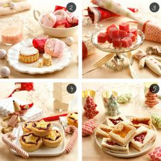 | Two party menus for the Three Kings' Day