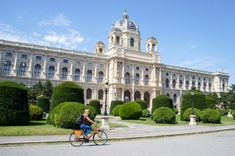 Sightseeing Vienna by Bike: Complete Itinerary Beautiful Architecture, Beautiful Buildings, Vienna State Opera, Travel Workout, New City, Romanesque, World Heritage Sites, The Good Place, Traveling By Yourself