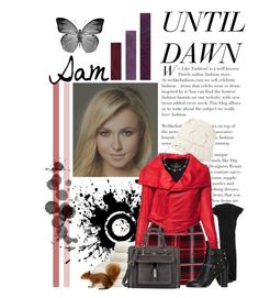 """""""Until Dawn Characters: Sam"""" by supercalifragilistica ❤ liked on Polyvore featuring STELLA McCARTNEY, Miso, Roger Vivier, Yves Saint Laurent, Miu Miu, Dorothy Perkins, Valentino, Fontana Milano 1915 and Lee Angel Jewelry"""