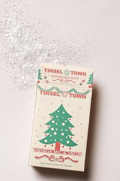Tinsel Town Faux Snow - anthropologie.com