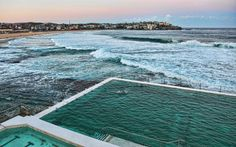 World's Most Extraordinary Swimming Pools - The Icebergs in Sydney. By Gary Hayes