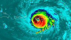 """Das war der Morgen bei n-tv: Sturmjäger liefern Bilder aus dem Herzen von """"Irma"""""""