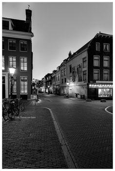 Lange Smeestraat - Utrecht @ Night by Thomas van Galen on Utrecht, Van, Night, Netherlands, Places, Vans, Vans Outfit
