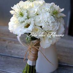 Bridal Bouquets - vintage white bouquet