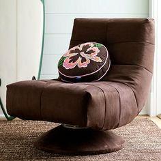 I love the Retro Swivel Chair on pbteen.com
