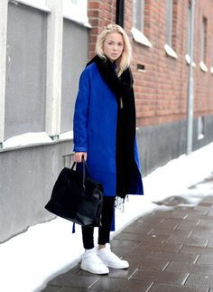 Beautiful royal blue coat