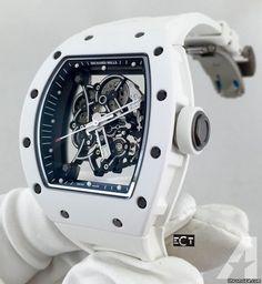 Richard Mille Bubba Watson RM55 White