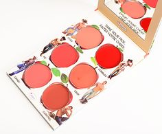 theBalm How 'Bout Them Apples? Lip & Cheek Cream Palette