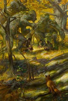 Alan Lee, Lord of the Rings Jrr Tolkien, Hobbit Art, O Hobbit, Alan Lee, Fantasy Books, Fantasy Art, Dark Fantasy, John Howe, Thranduil