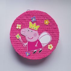 This PEPPA PIG, Peppa la cerdita Piñata, Peppa Pig Birthday Party, Fairy is just one of the custom, handmade pieces you'll find in our piñatas shops. Fairy Birthday Party, Pig Birthday, Baby Girl Birthday, 3rd Birthday Parties, Birthday Party Decorations, Peppa Pig Pinata, Fiestas Peppa Pig, Cumple Peppa Pig, Peppa Big