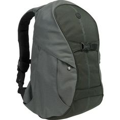 Crumpler, The New Karachi Outpost Backpack, $260. Padded, for your camera stuff.