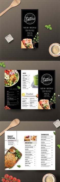 Designs | SANDWICH CAFE MENU | Menu contest