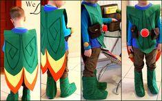 Tree Fu Tom costume DIY