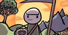 in this comic, we investigate whether or not the board game Settlers of Catan ruins friendships