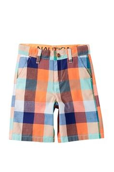 Plaid Short (Little Boys)