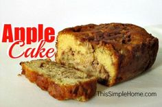 Apple Cake by Annette Whipple & ThisSimpleHome.com