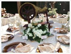 D cor trend we love baby 39 s breath unique centerpieces for Sleeping beauty wedding table