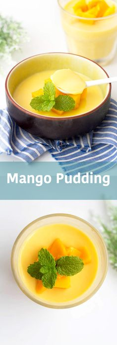 Chinese #mango #pudding