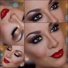 Love holiday makeup!