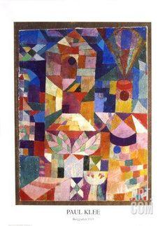 Garden View Art Print by Paul Klee at Art.com