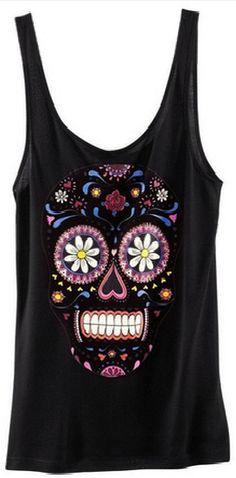 Skull tanktop | Tshirt