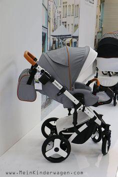 Classico AMELIS Hugo, limitierte Version, Kinderwagen 3 in 1, grau, tolle Funktionen, modern