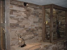 joe's gun room.