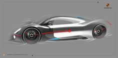 Porsche Fuel Cell Vehlice   by Pan zhipeng