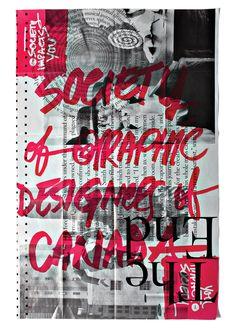 La conception et la création du rapport annuel du GDC (Sociétés des Designers Graphiques du Canada)…