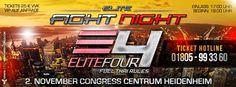 """Update """"ELITE FIGHT NIGHT"""" + """"ELITE 4 Full Thai Rules"""" Fightcard mit Janosch Nietlispach"""