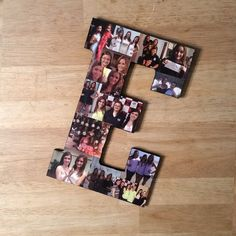 Custom Photo Collage, Letter Photo Collage, Wall Art, Personal Collage, Photo Collage, Personal Photos, Customized Photo Letters, Wall Art by LybelleCreations on Etsy