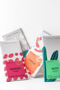 Creative chocolate packaging