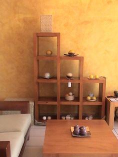 Muebles De Madera Contemporaneos Of Mueble Biblioteca Escalonada Repisa O Divisor De Ambientes