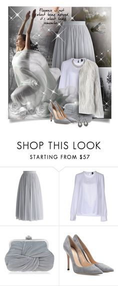 """Elegance"" by diva1023 ❤ liked on Polyvore featuring Chicwish, Nora Barth, Nina and Gianvito Rossi"