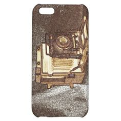 Vintage Press Camera iPhone 5C Glossy Finish Case iPhone 5C Cover