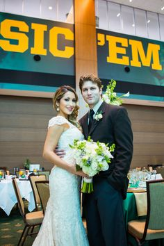 Information about having your wedding in the Baylor Club at McLane Stadium