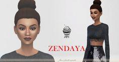 Zendaya at Jane's Fourth Cupcake • Sims 4 Updates