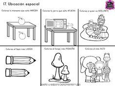 Examen final para tercero de preescolar ~ Imágenes Creativas